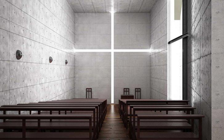 "Tadao Ando: ""Iglesia de la luz 1988"""