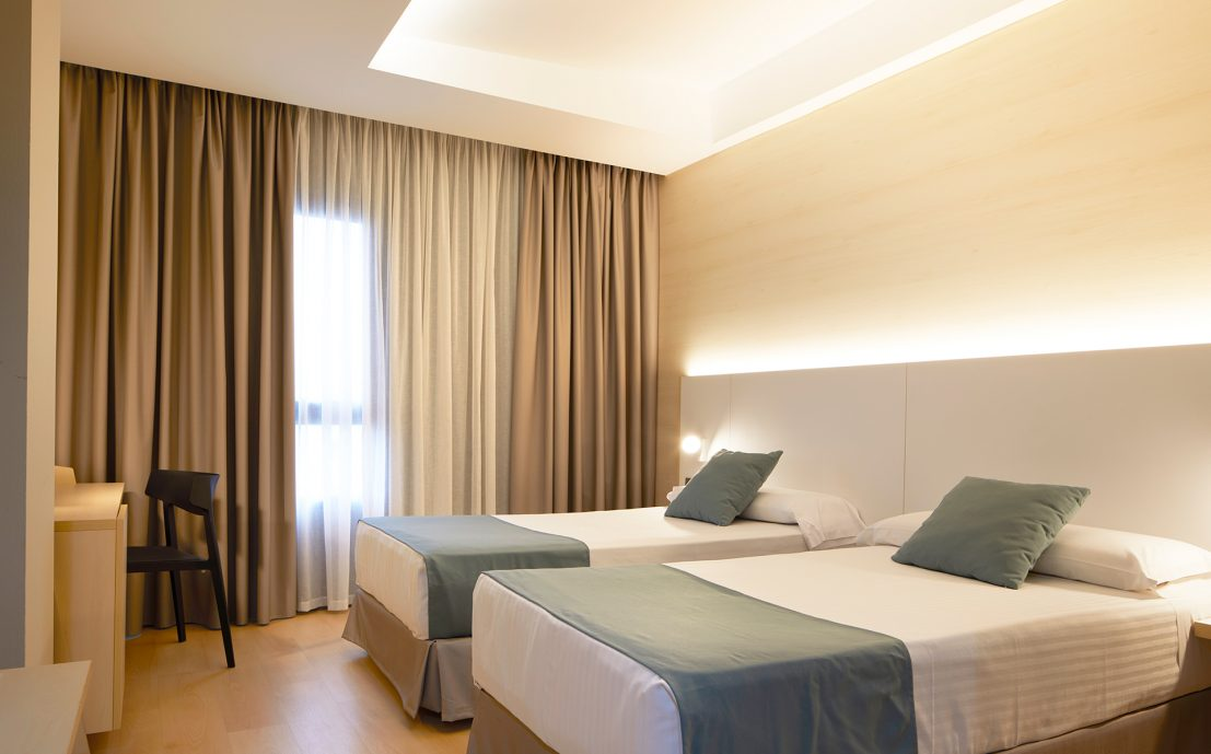 Habitaciones Hotel Olympia