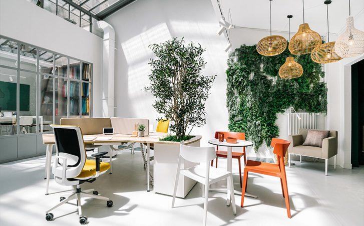 Nuevo showroom de Actiu en París en colaboración con Cosín estudio